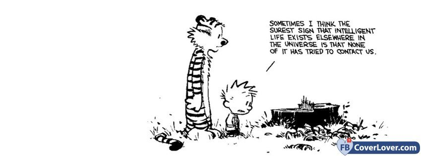 Calvin and Hobbes Facebook Covers