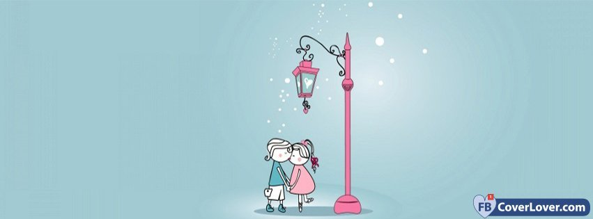 Cute Boy And Girl In Love Love And Relationship Facebook Cover Maker