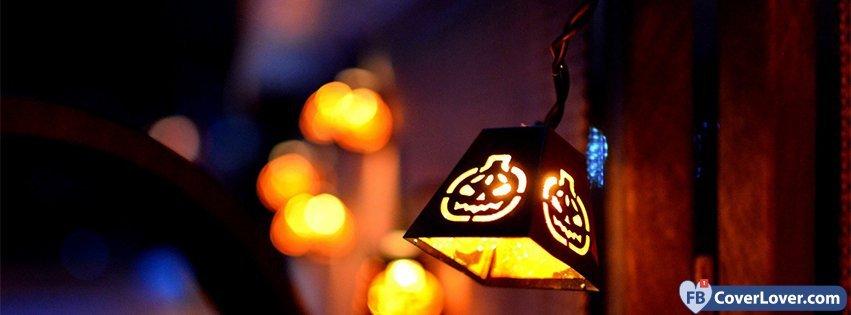 Cute Halloween Lantern Light