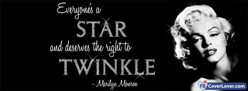 Everyones A Star Marilyn Monroe