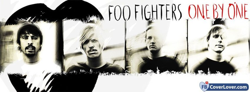 The Foo Fighters One By One