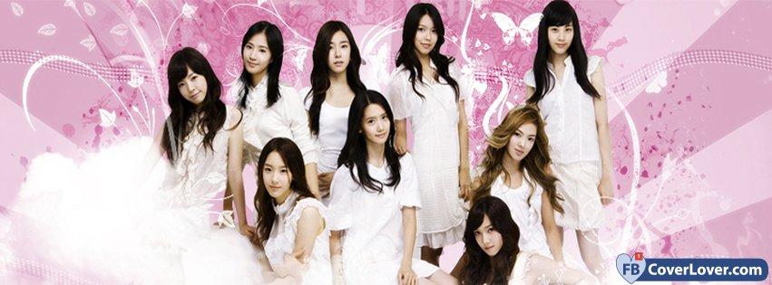 Girls Generation Music Facebook Cover Maker Fbcoverlovercom