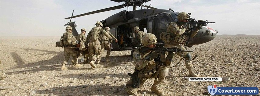 Army In Action 2 Military Facebook Cover Maker