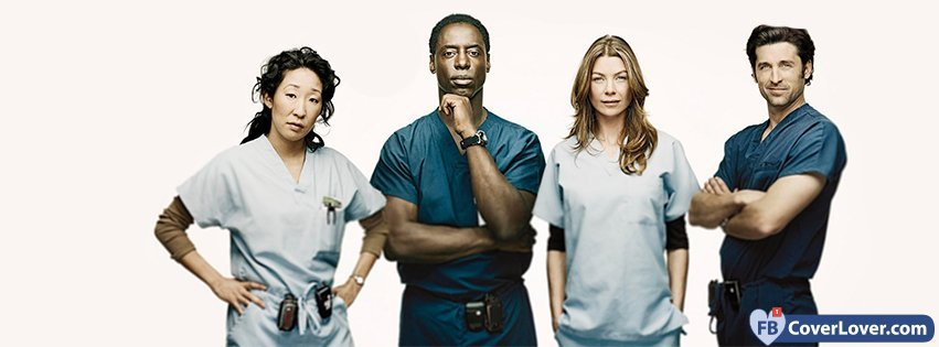 Greys Anatomy 4 Movies And TV Show Facebook Cover Maker Fbcoverlover.com