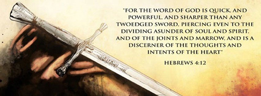 For The Word Of God Hebrews 4 12