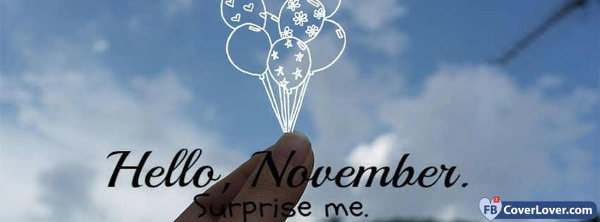 Hello November Surprise Me