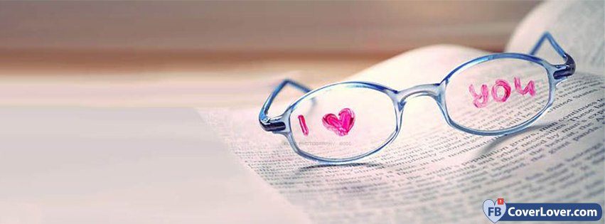 I Love You Written On Glasses
