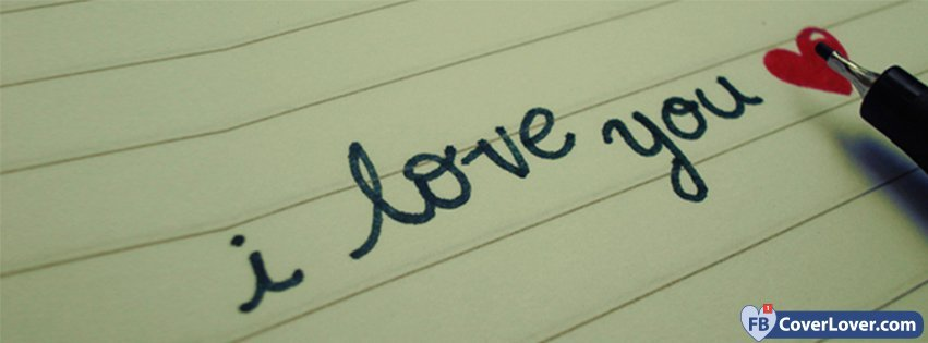 i love you! FB: