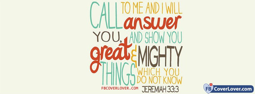 God Will Show You Great Things Jeremiah 333