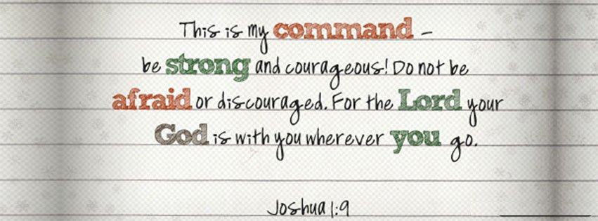 Your God Is With You Joshua 1 9