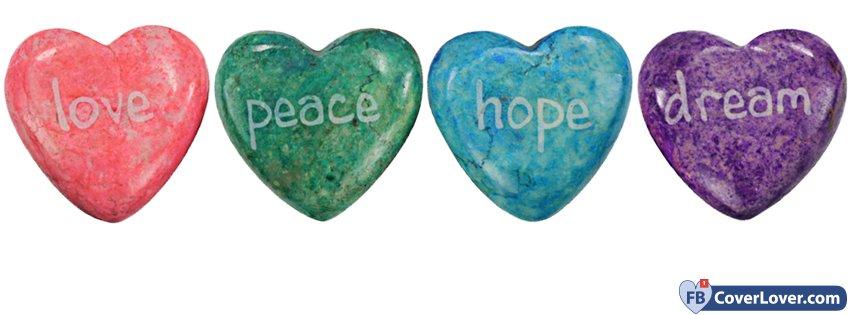 Love Peace Hope Dreams 3