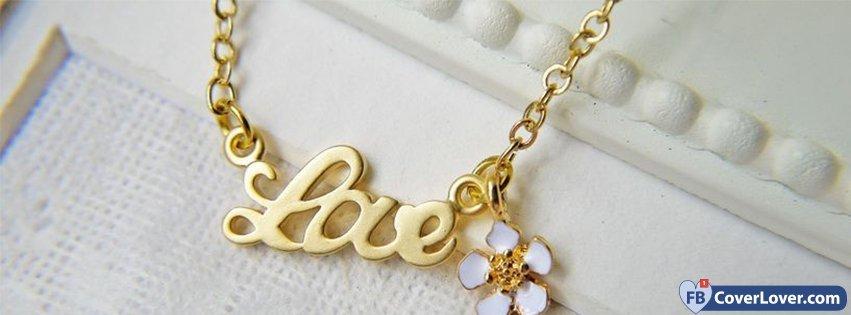 Love Pendant Gold