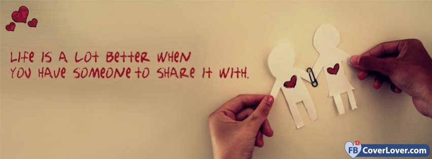 Love When You Have Someone To Share It