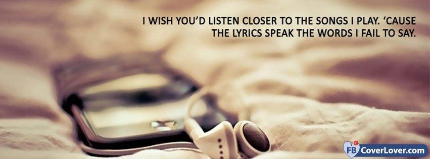 Lyrics Speak The Words