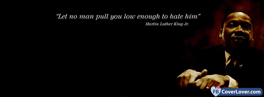 Martin Luther King Quote Quotes And Sayings Facebook Cover