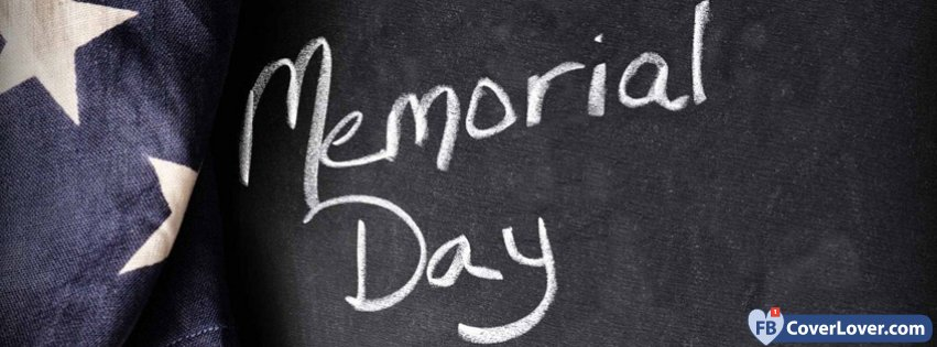 Memorial Day Blackboard