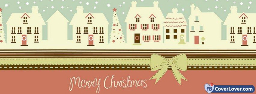 Merry Christmas Houses