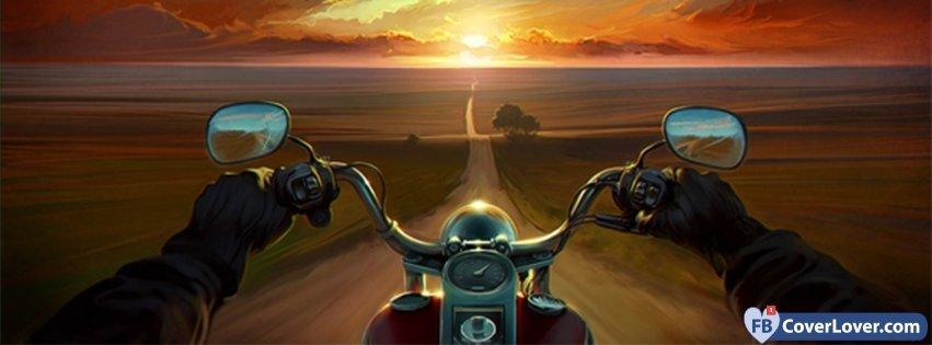 Multicolor Artwork Motorbikes