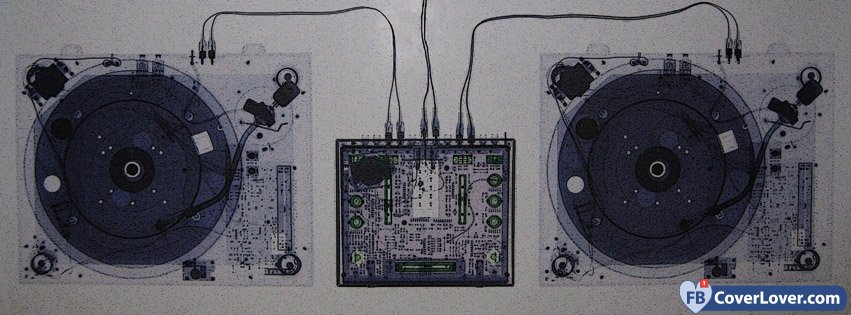 Music Console X Ray