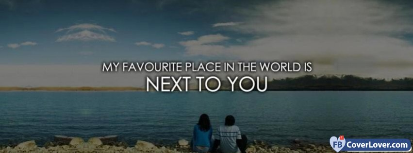 My Favorite Place Is Next To You