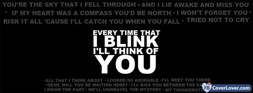 I Will Think Of You