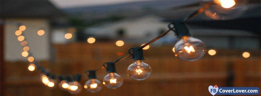 String Lights With Covers : String Lights 3 Light Facebook Cover Maker Fbcoverlover.com
