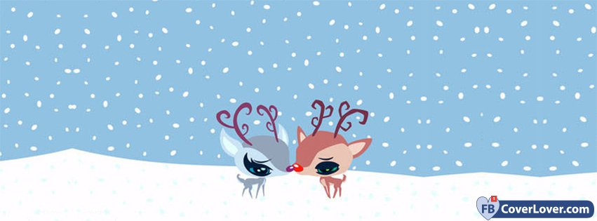 Winter Love Deers