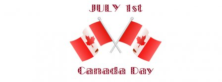 1st July Canada Day  Facebook Covers