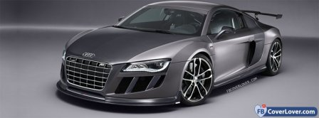 Audi R8 GTR Facebook Covers