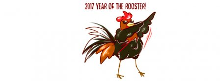 2017 Year Of The Rooster Facebook Covers