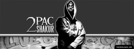 2 Pac Shakur Facebook Covers