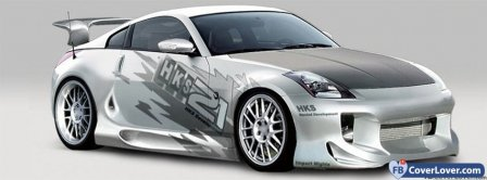 Nissan 350 Z Facebook Covers