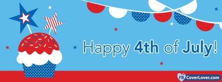 4th July Independence Day 6 Facebook Covers