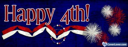 4th July Independence Day 8 Facebook Covers