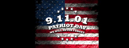 9 11 01 Patriot Day We Will Never Forget Facebook Covers