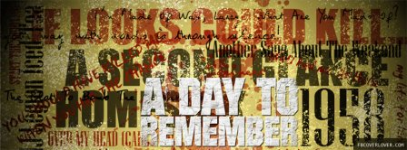 A Day To Remember 2 Facebook Covers