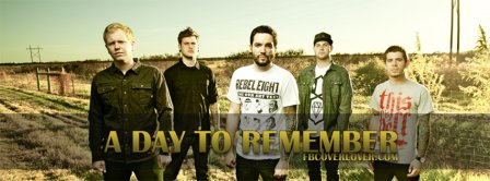 A Day To Remember 4 Facebook Covers