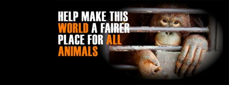 A Fairer Place For Animals Facebook Covers