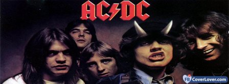 AC DC Highway To Hell Color Facebook Covers