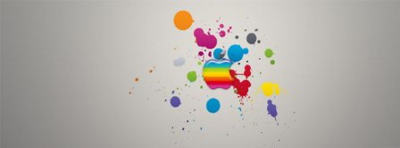 Abstract Artistic Apple Facebook Covers