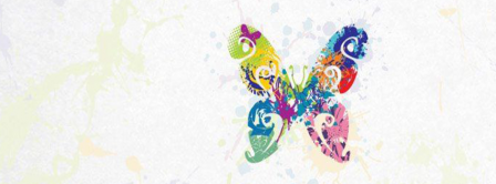 Abstract Artistic Buterfly Facebook Covers