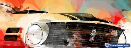 Abstract Artistic Car Facebook Covers