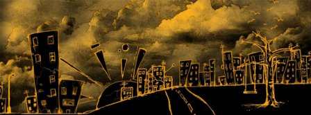 Abstract Artistic City  Facebook Covers