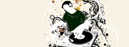Abstract Artistic Dj Facebook Covers