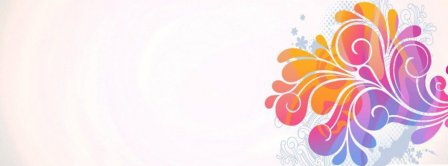 Abstract Artistic Flower 1  Facebook Covers