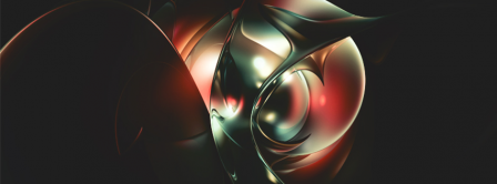 Abstract Artistic Flower 4  Facebook Covers
