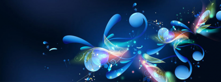 Abstract Artistic Flower 6  Facebook Covers