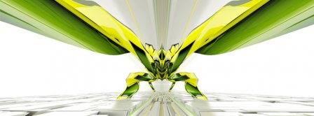 Abstract Artistic Insect  Facebook Covers