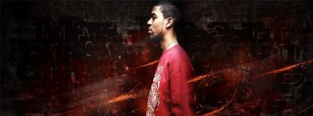 Abstract Artistic Kid Cudi Facebook Covers