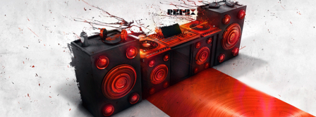 Abstract Artistic Music  Facebook Covers